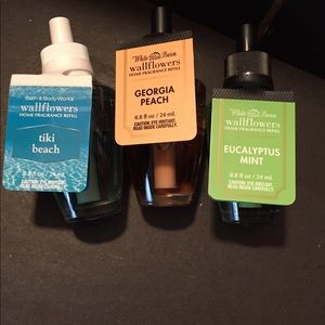 Bath and body works wallflower refills